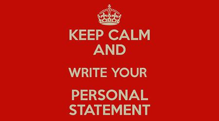 Personal statement examples for a cv